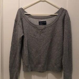 Grey sweatshirt from American Eagle
